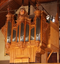 Orgue Silbermann restauré en 2007